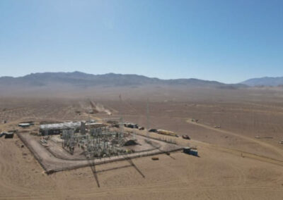 Sub Estación Eléctrica en Proyecto Campos de Sol